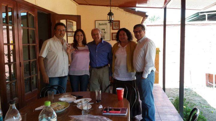 Concejala humanista se reúne con humanistas chilenos