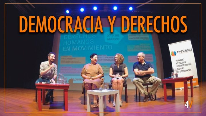Democracia y derechos: conversatorio con Beatriz Sánchez, Tomás Hirsch, Luciana Genro y Francisco Figueroa