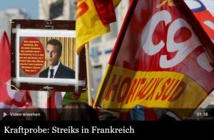 Widerstand gegen Reformen in Frankreich
