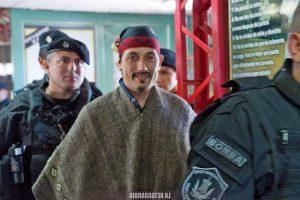 Facundo Jones Huala, el lonko mapuche que sonríe