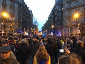 Catalunya: de la política a la lluita social