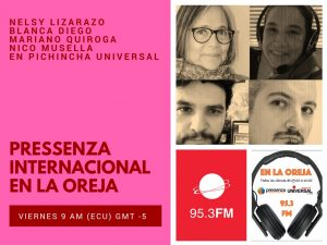 Pressenza Internacional En la Oreja 16/03/2018
