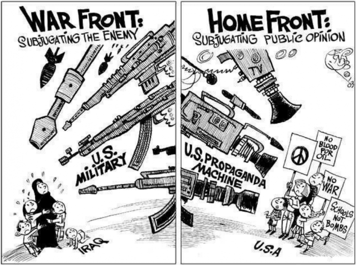 How They Sold the Iraq War