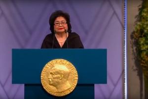 Raccolta fondi per il film sulla sopravvissuta di Hiroshima, Nobel per la Pace
