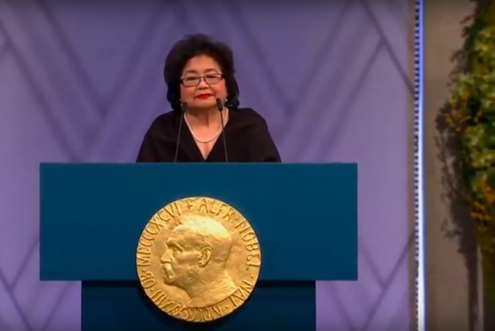 Aufruf zum Crowdfunding für einen Film über die 86-jährige Nobelpreisträgerin und Überlebende von Hiroshima
