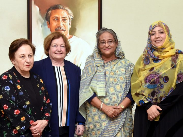 Nobel Women Peace Laureates Call for an End to Rohingya Genocide