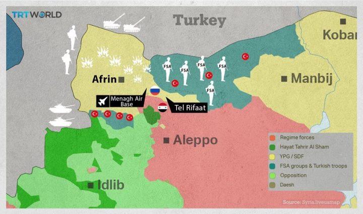 Afrin, chiesta la condanna della Turchia per crimini di guerra