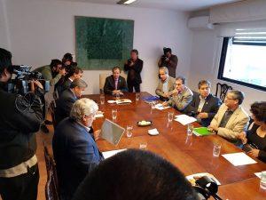 Mario Aguilar al Ministro Varela: Marchar es el último recurso