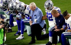 Take a Knee and a Stand