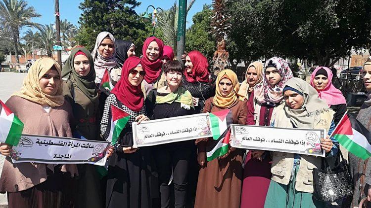 donne Gaza orizzontale