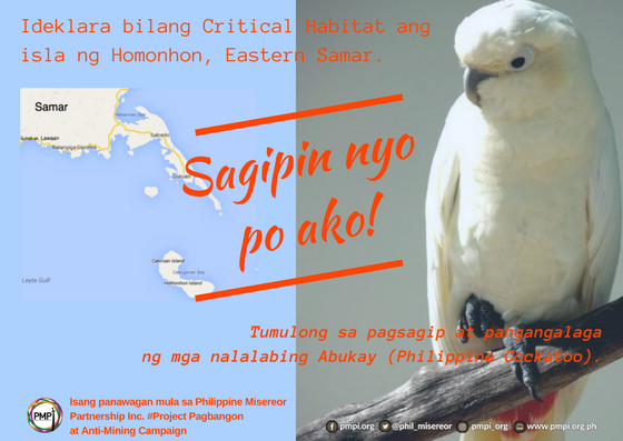 Cockatoos Under Threat: Homonhon Island Residents, Social Development Network Push for Protection on World Wildlife Day Celebration