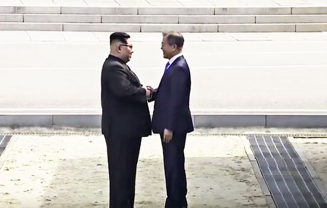 A Piece of World Peace History In-The-Making