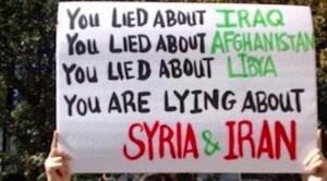 Syrie et la propagande dans la presse