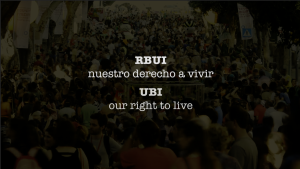 World premiere of the documentary: Universal Basic Income (UBI), our right to live
