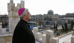 Siria. Mons. Audo, vescovo di Aleppo: Trump alimenta guerra per compiacere i sauditi; non gli crediamo, aspettiamola giustizia di Dio