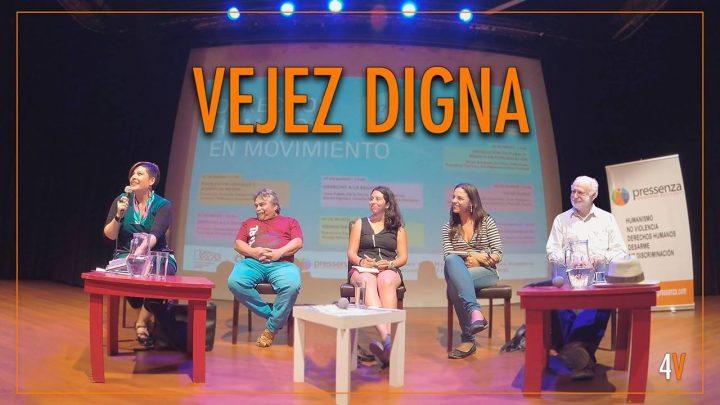Vejez digna: conversatorio con Gael Yeomans, Manuel Riesco, Fernanda Melchionna, Ricardo Saraiva, Marcela González