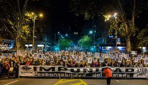 «Φτάνει η ατιμωρησία», φωνάζουν στην Ουρουγουάη