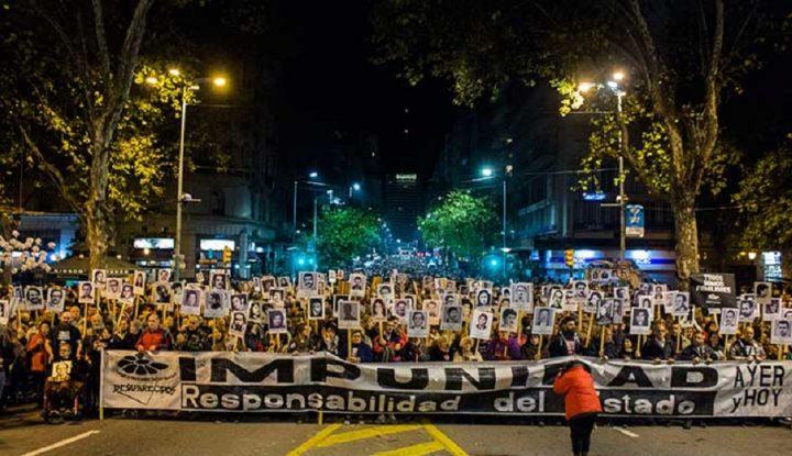 """""""Basta de impunidad"""" se clama en Uruguay"""