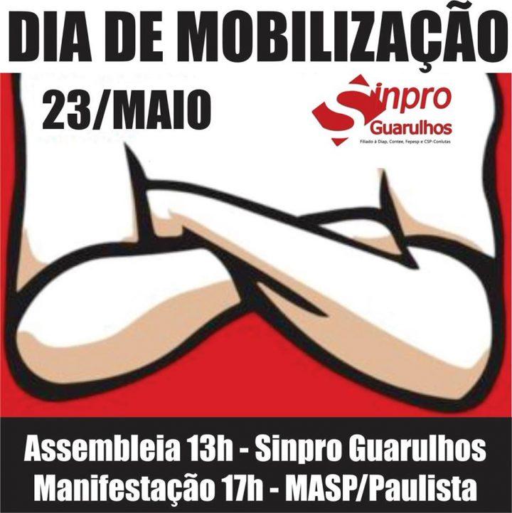 23 de Maio Dia de Mobilização pela Educação