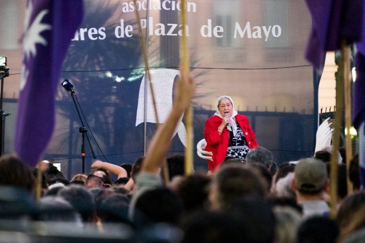 Las Madres de Plaza de Mayo cumplieron 41 años de lucha y resistencia