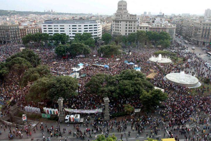 7 ans après la fondation du Mouvement 15M