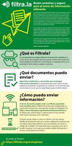Ecologistas en Acción se suma a Fíltrala, una plataforma de filtración de información
