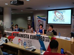 Opening day of the European Humanist Forum