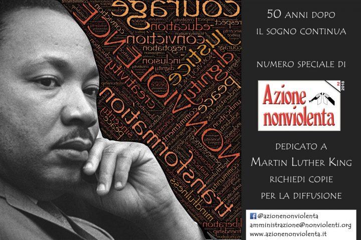Número monográfico de Acción No Violenta sobre Martin Luther King