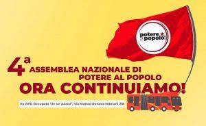 Napoli, 26/27 maggio 2018 – 4a Assemblea nazionale di Potere al popolo!