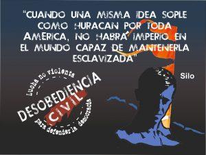 Desobediencia Civil, Plan de lucha no violenta para defender la democracia