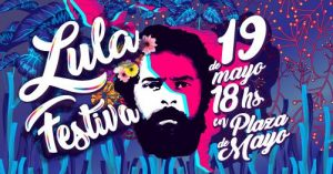 Festival histórico de apoyo a Lula en Buenos Aires