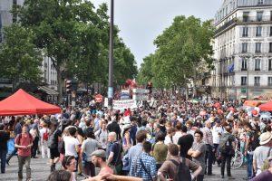 [Foto reportaje] Marea popular: una manifestación en busca de otro tipo de sociedad