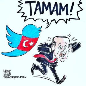 Περισσότεροι από ένα εκατομμύριο λένε «αρκετά» στον Τούρκο πρόεδρο Ερντογάν στο Twitter