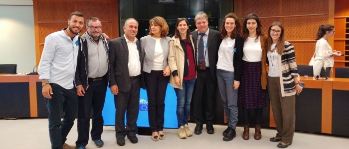 Siria, los refugiados y la Comunidad Don Benzi presentan propuestas de paz a los eurodiputados