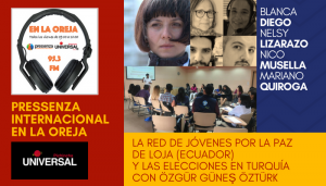 Pressenza Internacional En la Oreja 29/06/2018