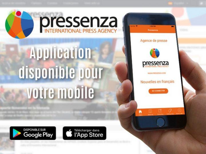 L'application Pressenza est ici – Journalisme pour la paix et la nonviolence directement sur le téléphone portable