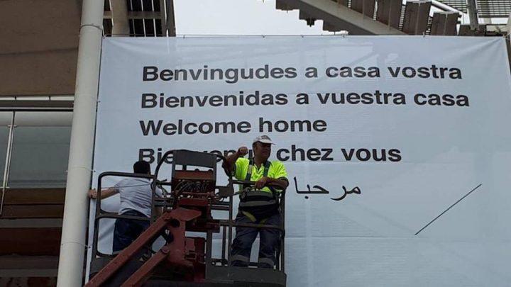 """València acull els immigrants de l'""""Aquarius"""""""