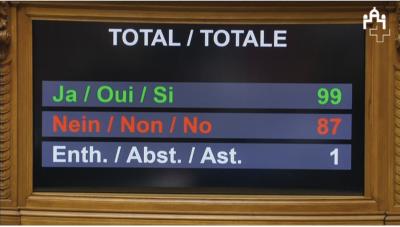 Le Conseil national exige la prompte adhésion de la Suisse au Traité sur l'interdiction des armes nucléaires