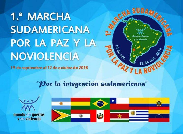 Como se gesta la Primera Marcha Sudamericana por la Paz y la No Violencia Activa