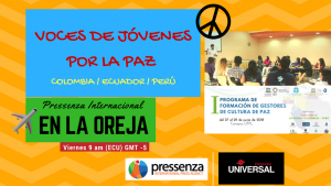 Voces desde el I Programa de Formación de Gestores de Cultura de Paz – Loja, Ecuador