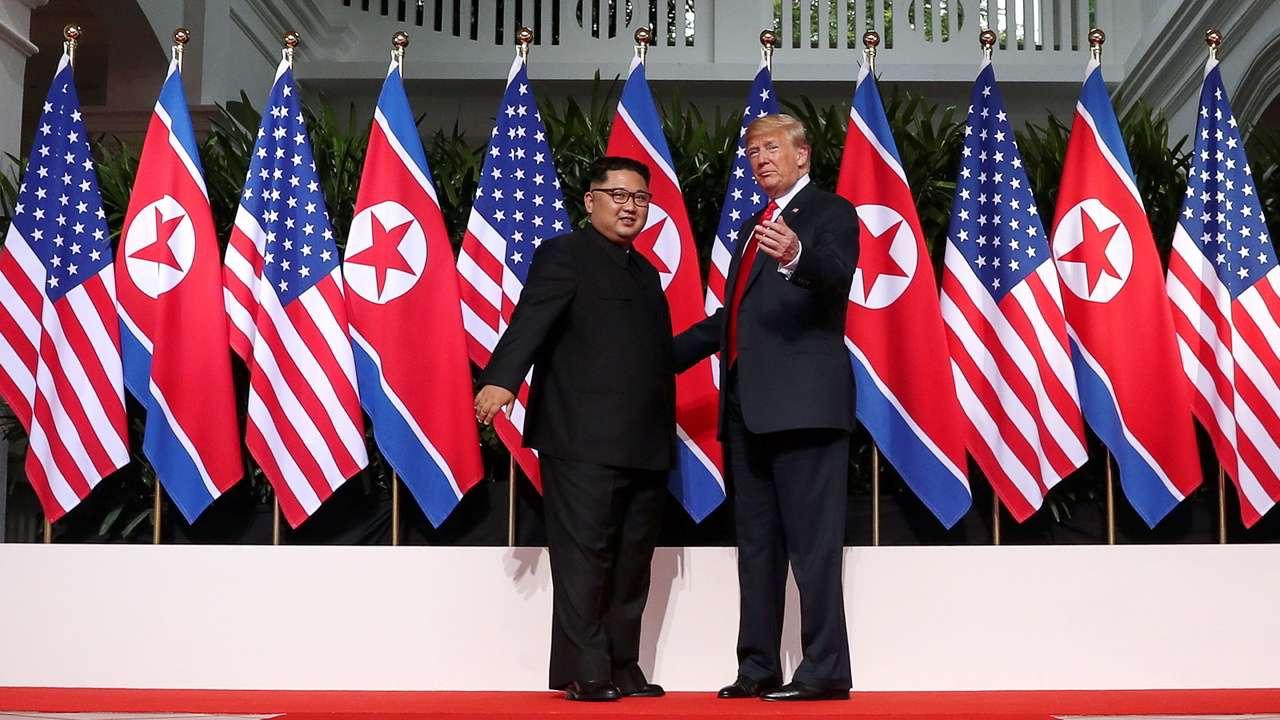 Pressenza Kim Trump Summit Hardcore War Mongers Arent