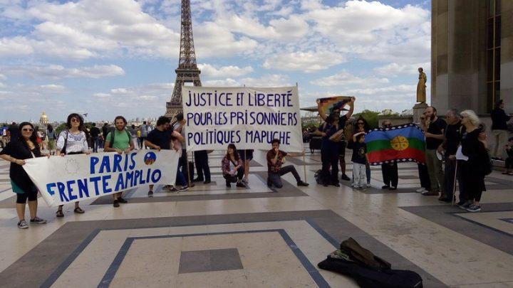 Soutien au Peuple Nation Mapuche à Paris