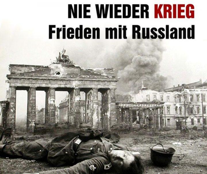 Hetze gegen Russland – Nicht in unserem Namen!