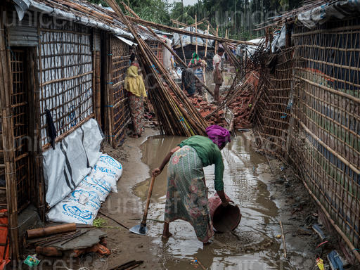 200.000 rifugiati rohingya – il 50% bambini – minacciati da piogge monsoniche, inondazioni e frane