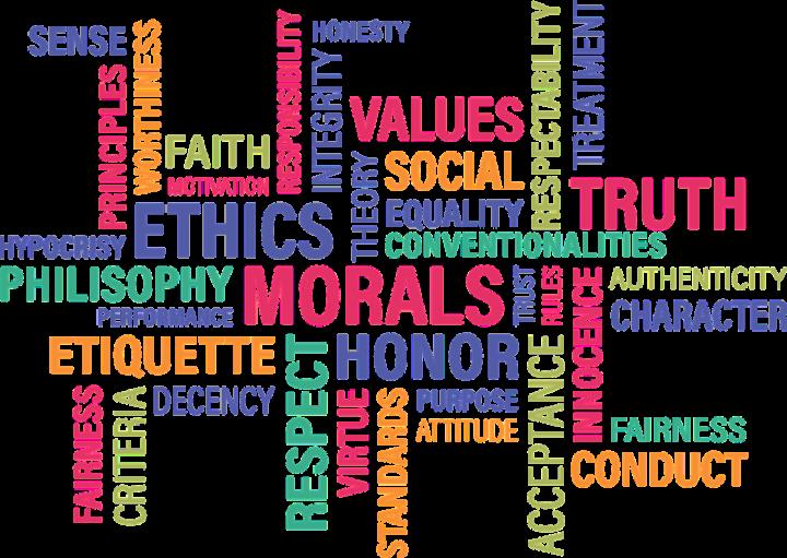 Hilfe, wer rettet die Moral?