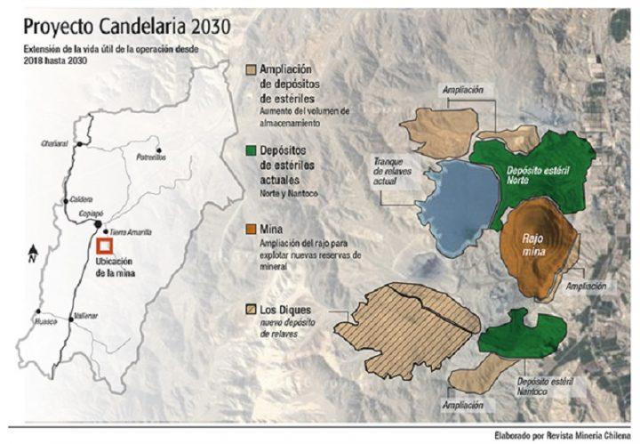 Tribunal ambiental en Chile confirma sanción a minera Candelaria por casi 2.800 millones de $