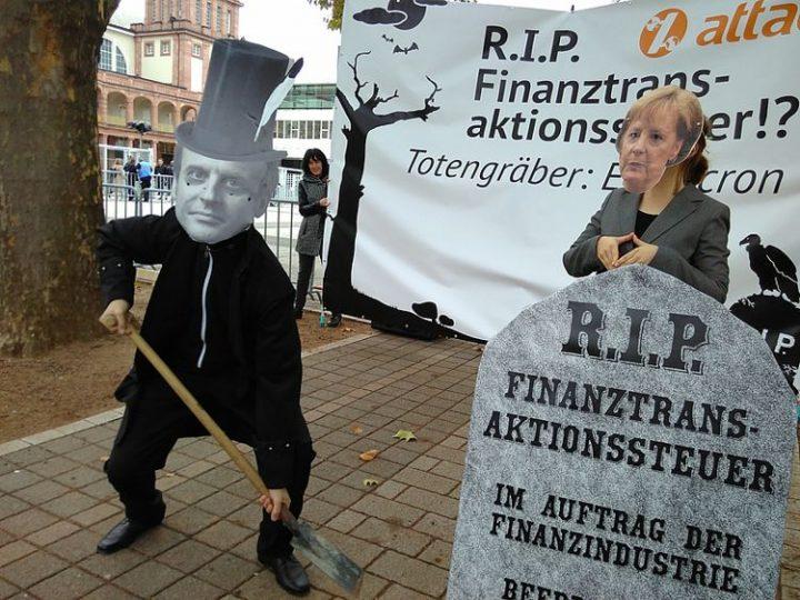 Scholz killt die Finanztransaktionssteuer