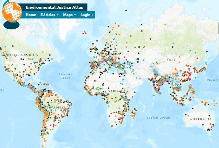Ο άτλας που καταγράφει τους παγκόσμιους περιβαλλοντικούς αγώνες