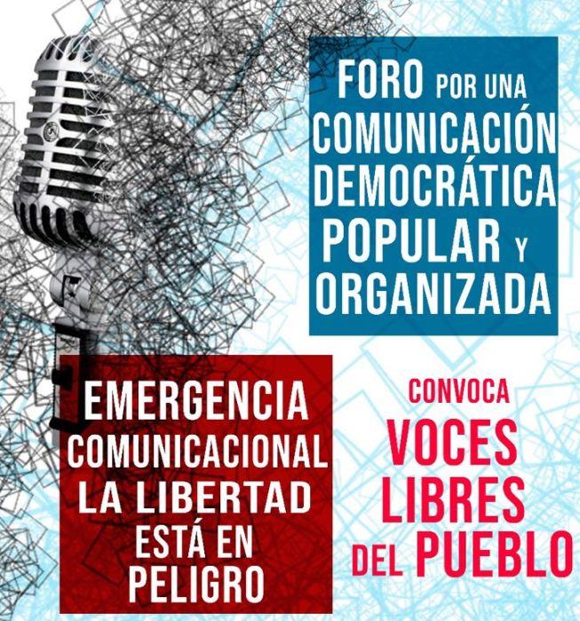 En el Día del Periodista, comunicadores populares señalan: «La libertad de expresión y el derecho a la comunicación están en peligro»