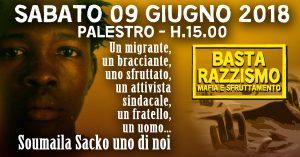Milano, 9 giugno, manifestazione antirazzista per Soumaila Sacko